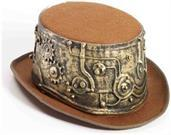 Deluxe Steampunk Adult Costume Top Hat