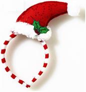 Santa Hat Mistletoe Costume Headband