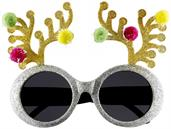 Reindeer Antler Costume Glasses