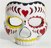 Day of the Dead Female Costume Mask Adult