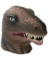 Latex Dinosaur Overhead Mask One Size