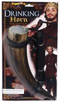 Medieval Fantasy Drinking Horn Costume Prop