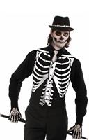 Skeleton Bones Adult Costume Vest