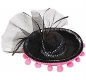 Day Of The Dead Mini Sombrero Costume Hat