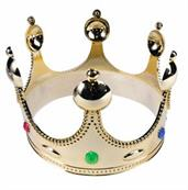 Golden King Costume Crown Child