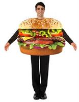 Hamburger Tunic Costume Adult Men