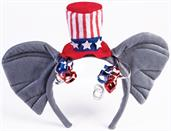 Republican Elephant Ears Patriotic Costume Headband