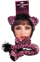 Pink Leopard Costume Kit