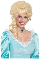 Blonde Belle Colonial Costume Wig
