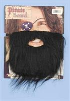Black Beard Pirate Costume Facial Hair