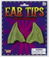 Pointed Green Costume Ear Tips