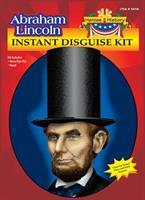 Abraham Lincoln Beard and Hat Disguise Adult Costume Kit