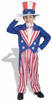 Americana Uncle Sam Patriotic Costume Child