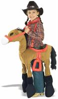 Ride A Pony Brown Horse Costume Child