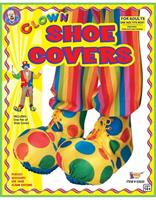 Circus Clown Adult Costume Shoe Covers