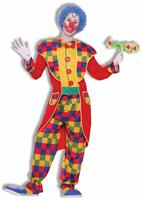 Circus Clown Tuxedo Suit Costume Adult