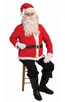 Santa Claus Jacket Accessory Costume Set Adult Standard