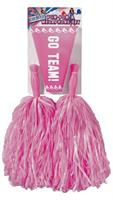 Cheerleader Pom Pom and Megaphone Pink Costume Accessory Set