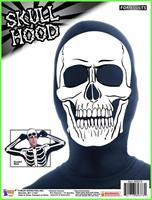 Disappearing Man Costume Hood: Skull