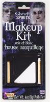 Black and White Ghost Costume Makeup Kit