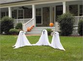"19"" Tall Light Up Lawn Ghosts Outdoor Halloween Decoration"