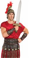 Roman Gladiator Costume Arm Guards Adult