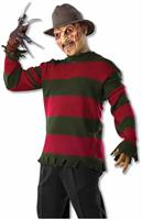 Nightmare On Elm Street Freddy Kruger Costume Sweater Adult