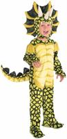 Plush Triceratops Dinosaur Toddler Costume