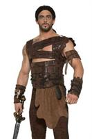 Medieval Fantasy Faux Leather Adult Costume Armor