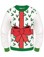 All Wrapped Up Ugly Christmas Sweater Adult