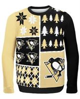 Pittsburgh Penguins NHL Busy Block Ugly Sweater
