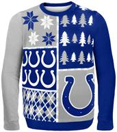 Indianapolis Colts Busy Block NFL Ugly Sweater
