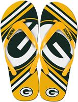 Green Bay Packers NFL Unisex Big Logo Flip Flops