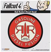 Fallout 4 Red Rocket Diesel Decal