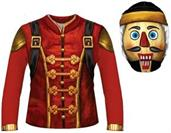 Crackshot Adult Sublimated Costume Shirt & Hood