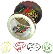 DC Comics Justice League 40-Piece Paper Clip Set