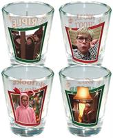 A Christmas Story Full Color Shot Glass 4-Pack