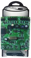 Designer Can Cooler: Circuit Board Pattern