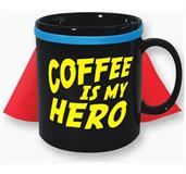 Coffee Is My Hero 30oz. Caped Mug