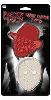 Freddy Vs. Jason Cookie Cutter 2-Pack