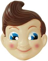 Big Boy Plastic Adult Costume Mask 18""