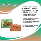 The Golden Girls Rushmore Chia Pet Decorative Planter Toynk Exclusive