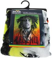 "Bob Marley ""Legend"" Fleece Throw Blanket"