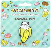Bananya Kitty Enamel Pin Collector Pin