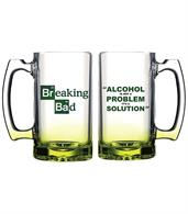 Breaking Bad Alcohol Solution Beer Mug