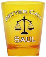 Better Call Saul Yellow 1.5oz Shot Glass