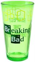 "Breaking Bad ""Respect The Chemistry"" 16oz Pint Glass"