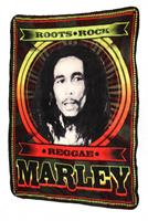 "Bob Marley Roots, Rock, Reggae 50""x60"" Fleece Throw Blanket"