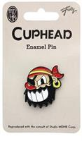 Cuphead Pirate Boss Enamel Collector Pin