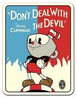 "Cuphead ""Don't Deal with the Devil"" 45""x60"" Fleece Throw Blanket"